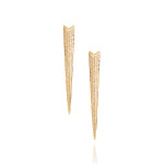 RS09b - Double Shard Earrings